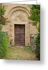 Italy - Door Twenty Five Greeting Card