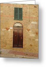 Italy - Door Twenty One Greeting Card