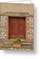 Italy Door - Twenty Six  Greeting Card
