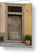 Italy - Door Twenty Three Greeting Card