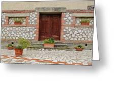 Italy - Door Twenty Two Greeting Card