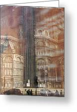 Italy, Florence, Duomo And Campanile Greeting Card