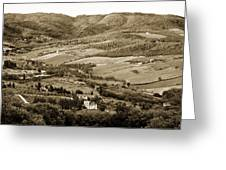 Italy From Above Greeting Card