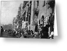 Italy: Naples, C1904 Greeting Card