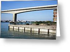 Itchen Bridge Southampton Greeting Card