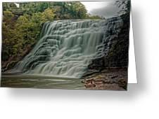 Ithaca Falls Greeting Card
