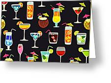 Its 5  Oclock Somewhere Cocktails Greeting Card