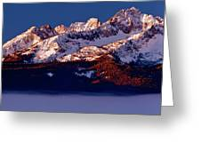 Its A New Day First Light Sawtooth Range Greeting Card