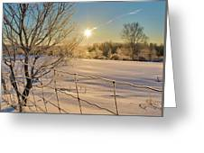 It's A Warm Cold... Greeting Card