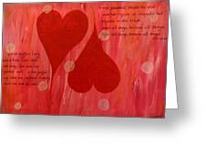 Its All About Love Greeting Card