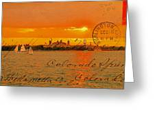 Its Beautiful Here In New York Greeting Card