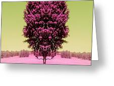 Its In The Tree Greeting Card