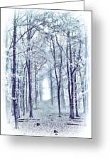 Its In The Trees Greeting Card