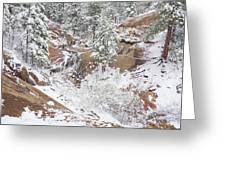 It's Mid May. We're Fast Approaching The End Of Our Snow Season.  Greeting Card