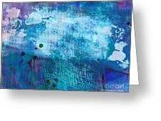 It's Written In The Sky Greeting Card