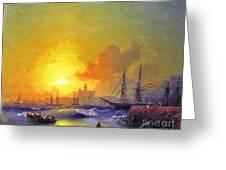 Ivan Constantinovich Aivazovsky  Greeting Card