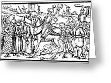 Ivan Iv Vasilevich (1530-1584) Greeting Card