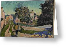 I've Decided To Retrace The Path That Vincent Took With His Easel That Day Greeting Card