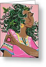 Ivy And Dashiki Greeting Card
