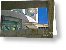 J. Paul Getty Museum Abstract View Greeting Card