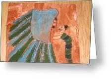 Jaaja Getu And Her Abigail - Tile Greeting Card