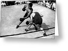 Jack Dempsey Greeting Card by Granger