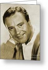 Jack Lemmon, Actor Greeting Card