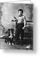 Jack London (1876-1916) Greeting Card by Granger