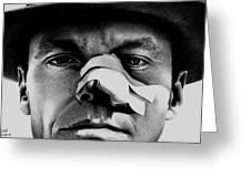 Jack Nicholson In Chinatown Greeting Card