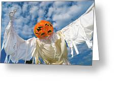 Jack-o-lantern Man Greeting Card