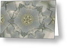 Jacket Flowers Greeting Card