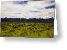 Jackson Hole Greeting Card