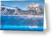 Jackson Lake - Teton National Park Greeting Card