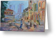 Jackson Square Musicians Greeting Card