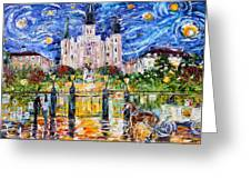 Jackson Square New Orleans Greeting Card