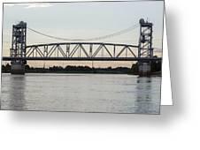 Jackson Street Bridge Greeting Card
