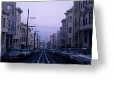 Jackson Street San Francisco Greeting Card