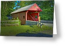 Jackson's Mill Covered Bridge Greeting Card
