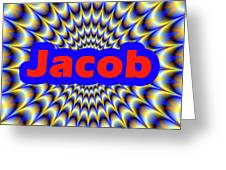 Jacob Greeting Card