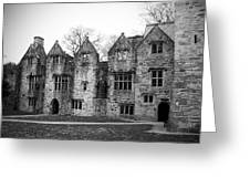 Jacobean Wing At Donegal Castle Ireland Greeting Card