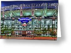 Jacobs Field Greeting Card