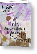 Jacob's Proclamation Greeting Card
