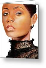 Jada Pinkett - Smith - 01 Greeting Card