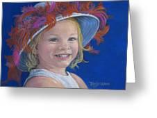 Jada's Hat Greeting Card