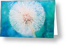 Jade Dandelion Greeting Card
