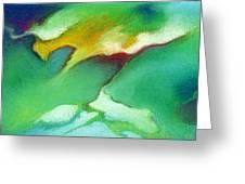Jade Ice Greeting Card