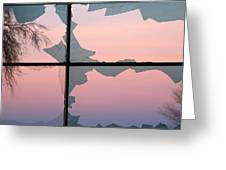 Jagged Twilight Greeting Card