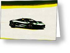 Jaguar C-x75 Greeting Card