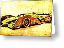 Jaguar Le Mans 2015, Race Car, Fast Car, Gift For Men Greeting Card