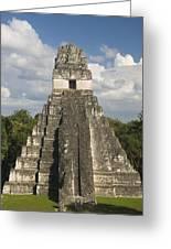 Jaguar Temple Greeting Card